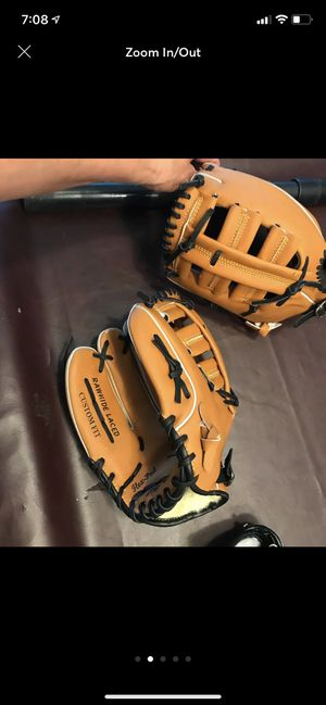 Size 12 baseball gloves. Shipping available for Sale in Hauppauge, NY