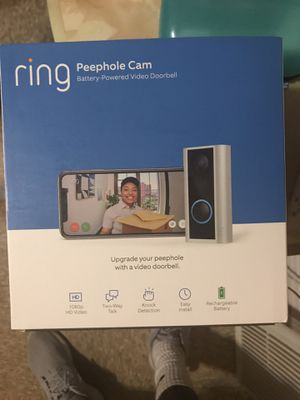 Ring Peephole Cam for Sale in Meriden, CT