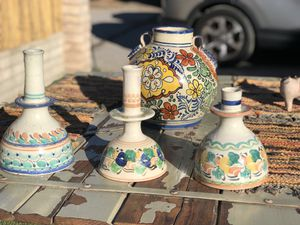 Mexican Ceramic Candle Holders for Sale in Los Angeles, CA