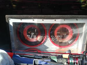 12 inch subs with 1500 watt amp for Sale in Bristol, CT