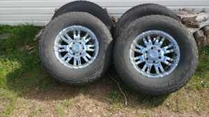 Pro comp rims. 17 inch and tires. Came off of a 2008 Silverado. for Sale in Springerville, AZ