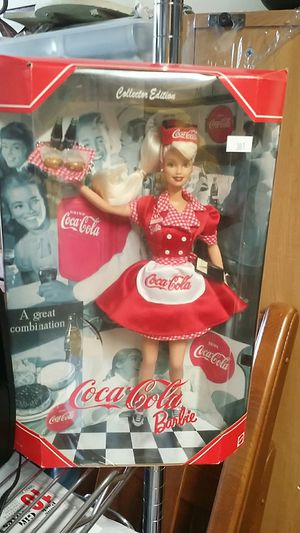 Coca cola barbie for Sale in Ashburn, VA