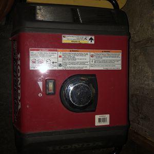 Honda Generator and McGraw Compressor for Sale in Tukwila, WA