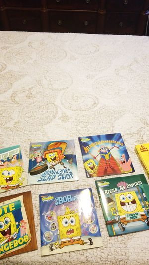 SpongeBob book collection $5 for Sale in Kansas City, MO