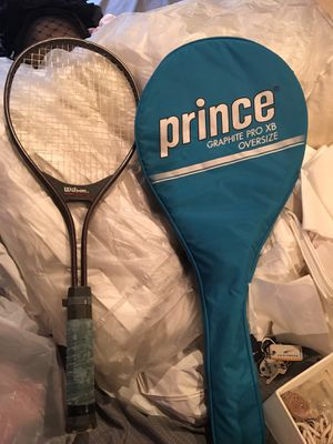 Prince and Wilson tennis rackets for Sale in West McLean, VA