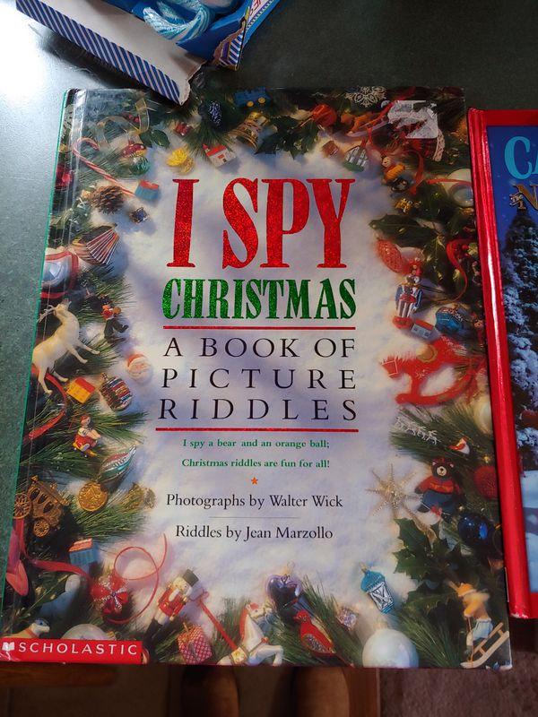I spy picture books