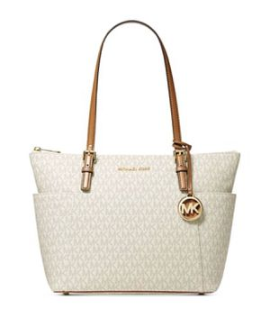 Michael Kors Jet Set East West Top Zip Leather Tote for Sale in Annapolis, MD