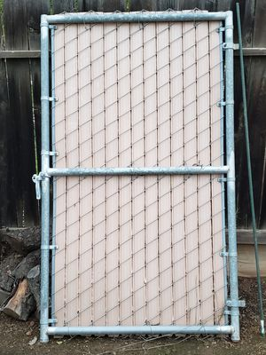 Chain Link Privacy Gate for Sale in Fresno, CA