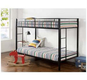 Black Metal bunk bed for Sale in Columbus, OH