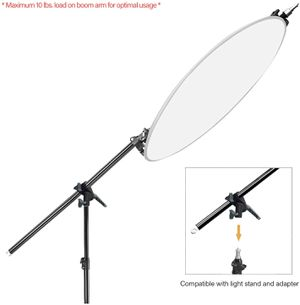 """(BRAND NEW) $35 - 83"""" Tall Lighting Reflector Arm Stand Reflector Stand Holder Boom Arm,78"""" Light Stand, Sandbags Saddlebag for Sale in Pomona, CA"""