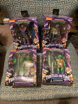 Neca Turtles in Time action figures for Sale in Manchaca, TX