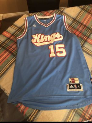 Sacramento Kings Demarcus Cousins Throwback Jersey for Sale in Sterling, VA