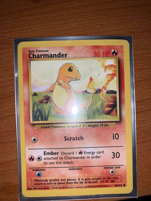 Base Set Charmander for Sale in Collegedale, TN