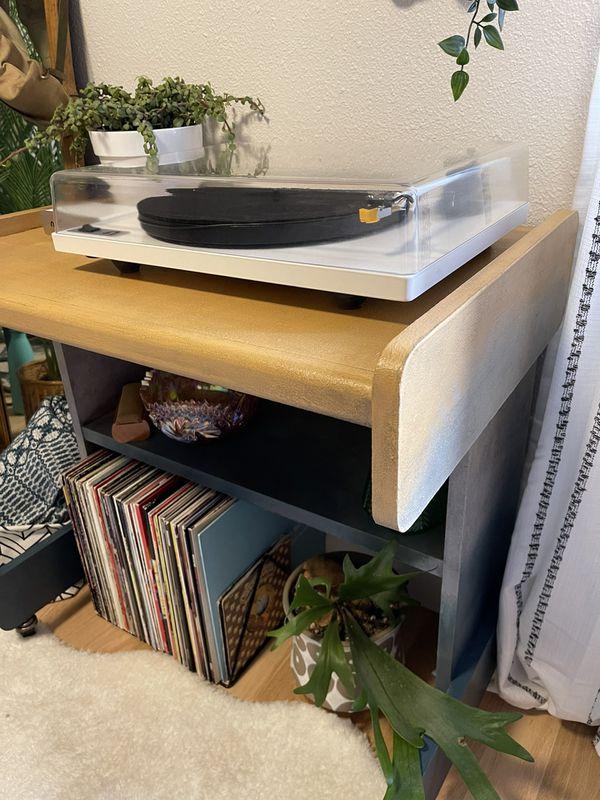 Ombré Small Desk/Vanity or Bar Cart