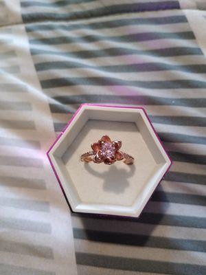 Rose bud ring sz 8 for Sale in Cedar Rapids, IA