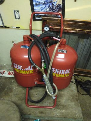 Central neumatic  Soda blaster  for Sale