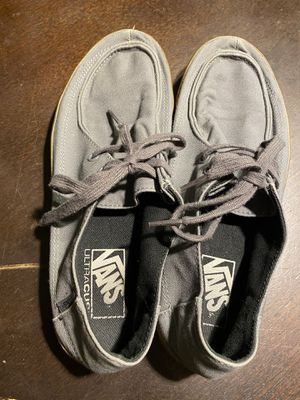 Vans Gray Men's 7.5 Women's 9 Shoes for Sale in Albuquerque, NM