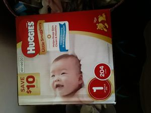 Huggies diapers 1 year for Sale in West Covina, CA