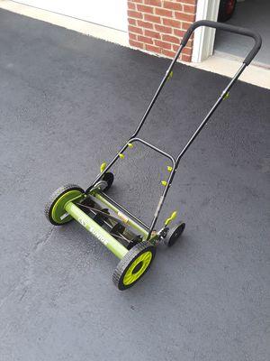 Sun Joe Manual Lawn Mower for Sale in Woodbridge, VA