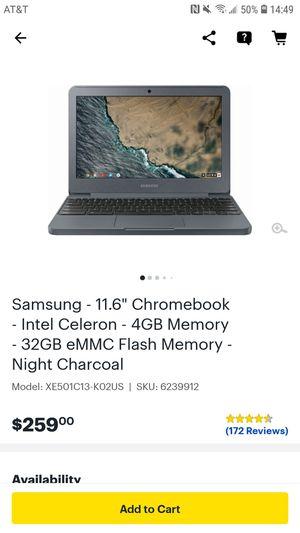 "Brand new Samsung Chromebook - 11.6"" screen sealed box for Sale in Virginia Beach, VA"