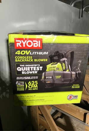 Backpack blower for Sale in Corpus Christi, TX