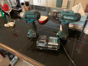 12v Mikita set ryobi brad nailer and drill for Sale in Port St. Lucie, FL