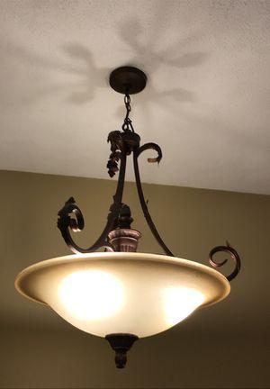 Entrance chandelier and island lights for Sale in Framingham, MA
