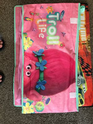 Dreamwork Trolls Foldable Toy Box for Sale in Hines, IL