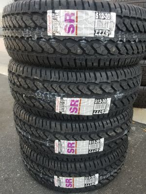 245 65 17 MASTERCRAFT TIRES for Sale in Colton, CA