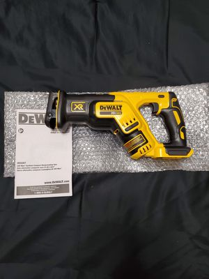 Dewalt 20v XR Brushless compact variable speed reciprocating saw/sawzall (tool only) for Sale in Riverview, FL