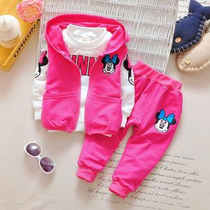 Baby Girls Clothing Sets Spring Cotton Minnie Girl's Clothes Sets Children Full Sleeve Embroidery Kids Clothing For 1-3 Year for Sale in Alafaya, FL