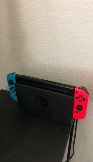Nintendo switch with games for Sale in Houston, TX
