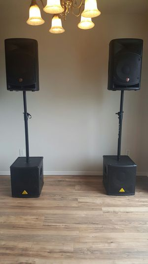 DJ/Audio Gear: Speakers, Mixers, Cords, Monitors for Sale in Hillsboro, OR
