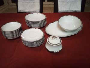 Antique Vintage Harmony House Starlight 3656 Fine China collection 27 piece for Sale in Holcomb, MO