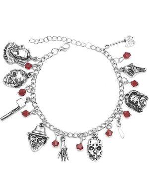 Freddy Krueger Jason Bracelet American Horror Story Classic Horror Movies Cospaly Charm Bracelet Fans Jewelry for Men Women Girls for Sale in Channelview, TX