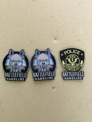 Battlefield Hardline - 3 Patches for Sale in San Francisco, CA