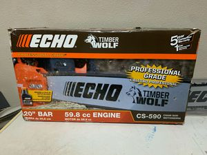 Echo timber wolf chain saw cs-590 for Sale in NEW PRT RCHY, FL