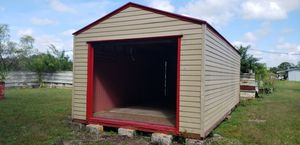 SUPERIOR SHED 12' x 24'. Side height 7' to 8' center for Sale in Sanford, FL
