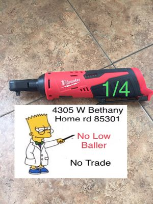 $65 No Menos ($65 Firm No Less) 1/4 Milwaukee for Sale in Glendale, AZ