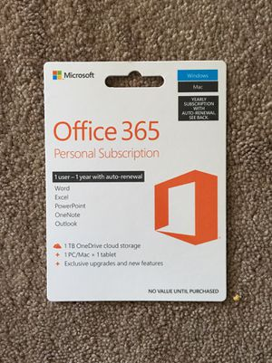 Microsoft Office 365 for Sale in Clovis, CA