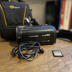 Panasonic Full HD Video Camera Camcorder HC-V770 for Sale in Denver, CO