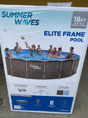 Brand New Swimming Pool Summer Waves (18ft) for Sale in Holbrook, MA