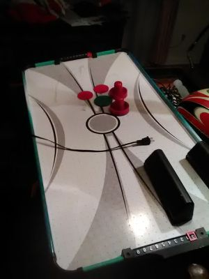 Air hockey game for table top for Sale in Haddonfield, NJ