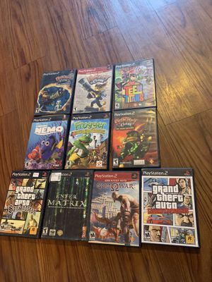 Ps2 games reserved for Sale in Tampa, FL