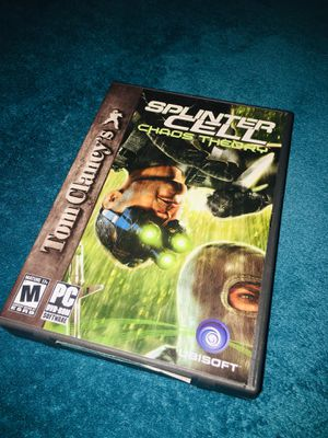 PC Game Splinter Cell Chaos Theory for Sale in Riverside, CA