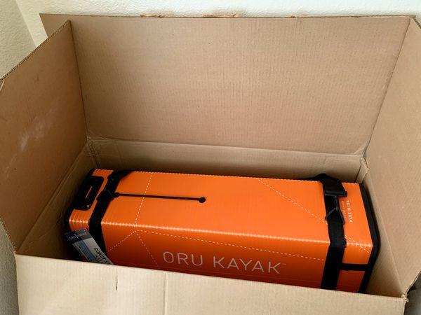 ORU KAYAK BRAND NEW never use THE COAST XT