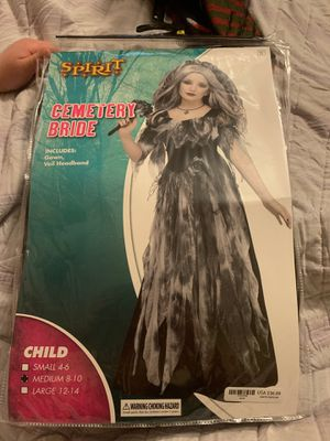 Kids cemetery bride costume for Sale in Fort McDowell, AZ