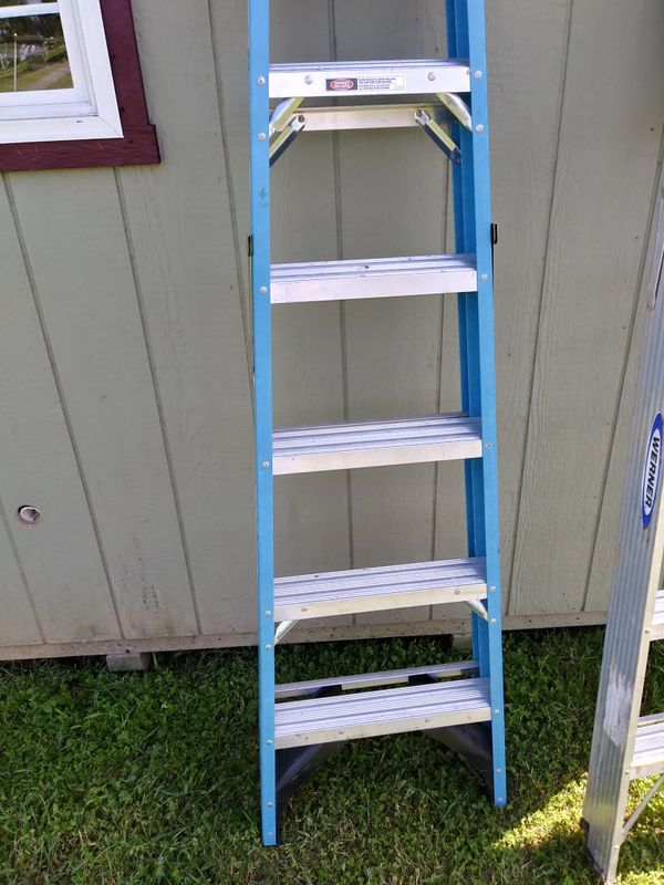 Werner 6ft ladders like new