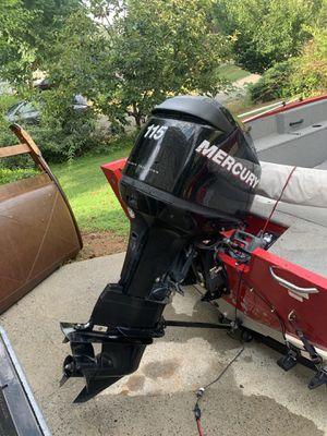 2012 Mercury 2 stroke 115hp outboard for Sale in Tucker, GA