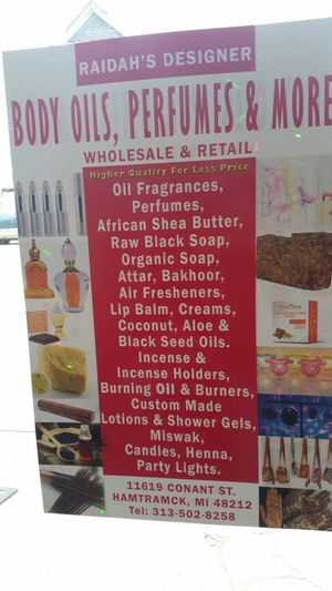 Perfume & Body oil for Sale in Detroit, MI